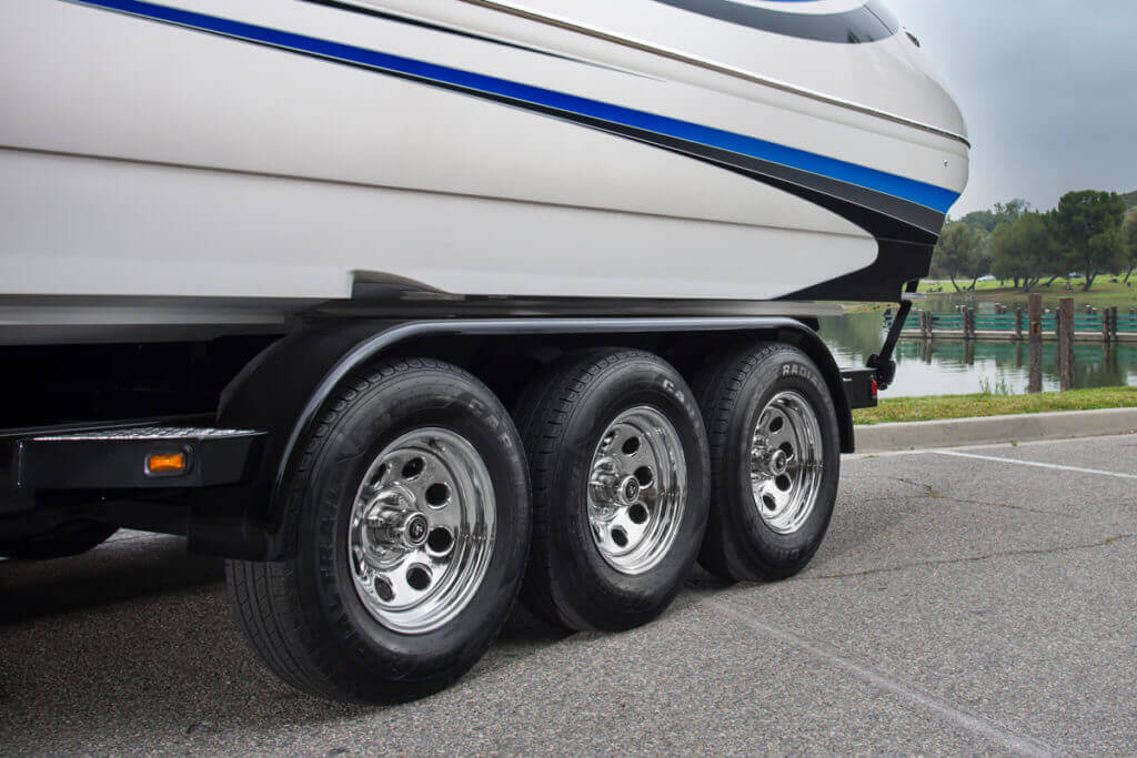 Carlisle Brand Tires Radial Trail HD - Boat Trailer