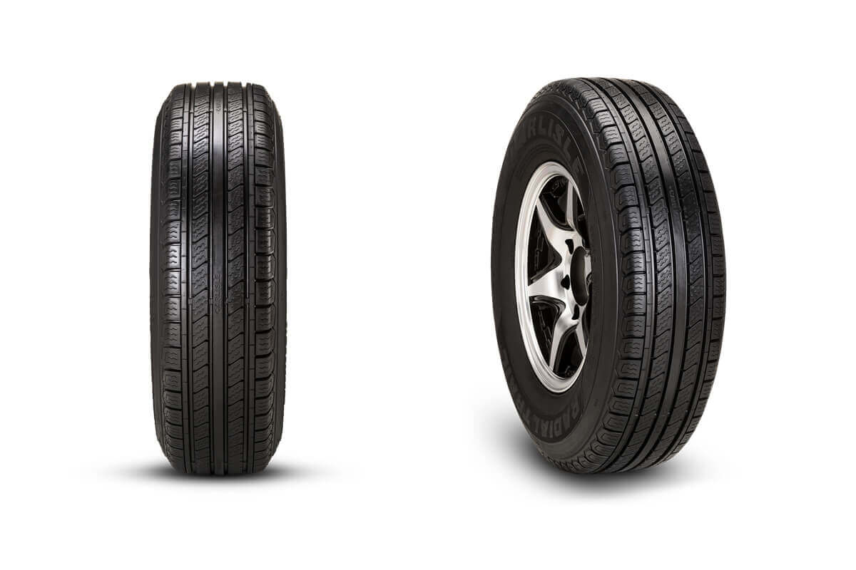 Carlisle Radial Trail HD High Speed Trailer Tire
