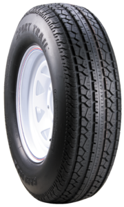 Carlisle Sport Trail Speciality Trailer Tire Angled View