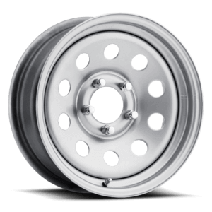 Carlisle Highway Supreme Trailer Wheel - Silver