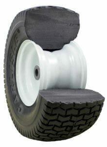 Carlisle Brand Flat-Free Tires Cutaway